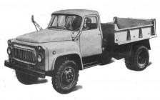 ГАЗ-52-02 с шасси под самосвалы САЗ-3503 и САЗ-3504