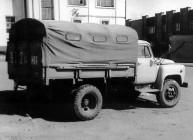 ГАЗ-52-05 Грузовое такси с тентом