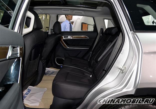 Haval H6 Coupe диван сзади