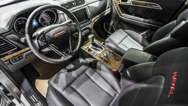Фото салона Great Wall Haval H6 Coupe