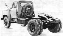 Седельный тягач ГАЗ-52-06
