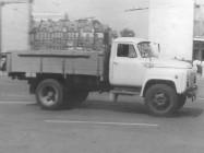 ГАЗ-52-27 работающий на сжатом природном газе