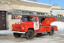 АЛ-18 (52-02)Л2 - 18-метровая автолестница на шасси ГАЗ-52-02