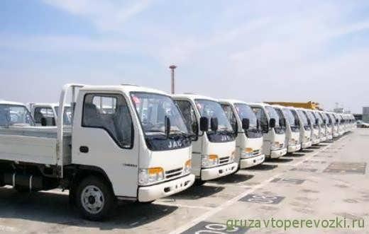 китайские грузовики jac