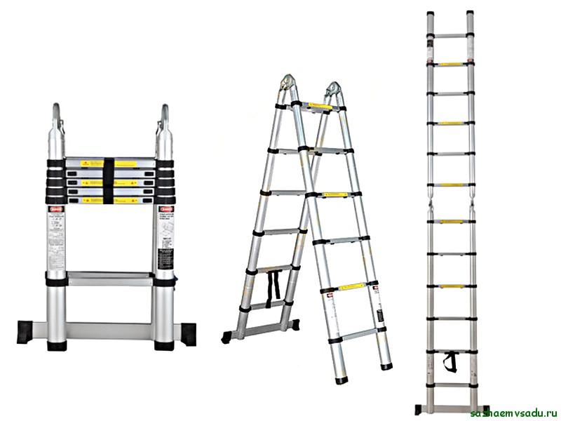 Выбор садовой лестницы-стремянки