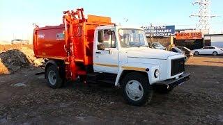 2013 ГАЗ 3309 КО-440-2. Обзор (интерьер, экстерьер, двигатель).