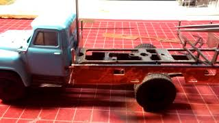 Модель 1:43 Газ 53 А м-30