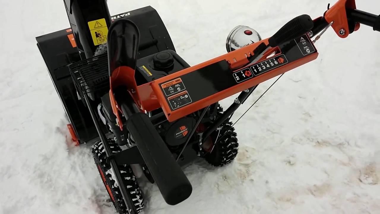 Снегоуборщик серии PRO
