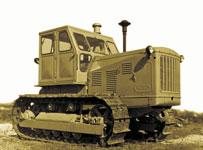 трактор Т-100М производства ЧТЗ