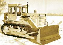 бульдозер Т-170 производства ЧТЗ