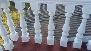 Монтаж бетонних балясин та заливка перил/ Установка бетонных балясин и заливка перил своими руками