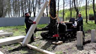 Железобетонные сваи: установка и характеристики