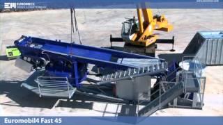 Мобильная бетоносмесительная установка FAST1000