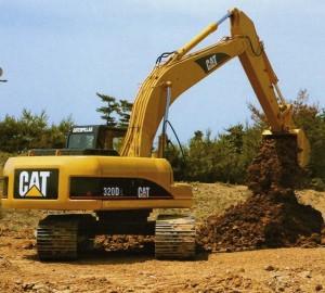 экскаватор caterpillar 320 dl земляные работы