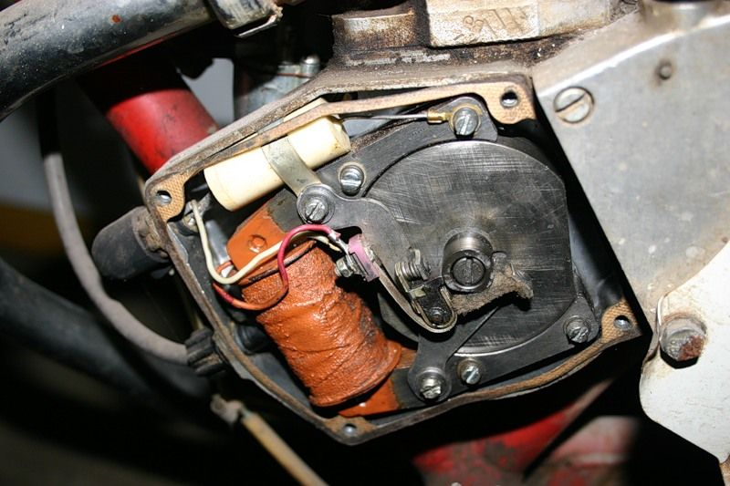 Зажигание на моторе д6