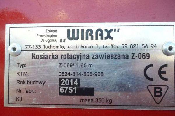 разборка польской косилки виракс