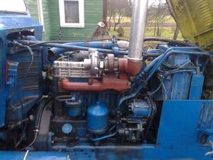 Двигатель Д-240 с самодельной турбиной