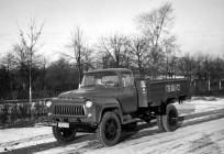 Опытный грузовик ГАЗ-52Ф с форкамерно-факельным двигателем.