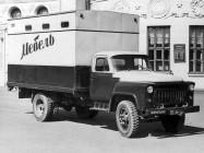 ГАЗ-52А серийный грузовой автомобиль для перевозки специализированных фургонов