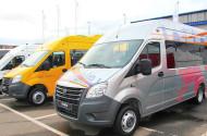 «Группа ГАЗ» представляет новые модели микроавтобусов