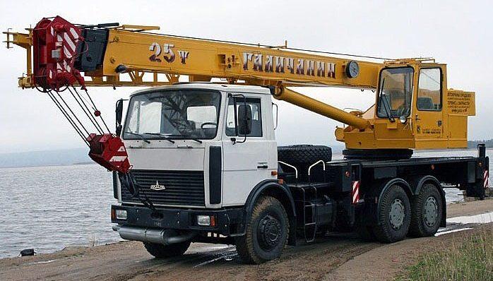 Автокран Галичанин КС-55713-6 МАЗ 6303