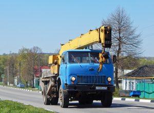 Автокран КС-3577 на шасси МАЗ-5334
