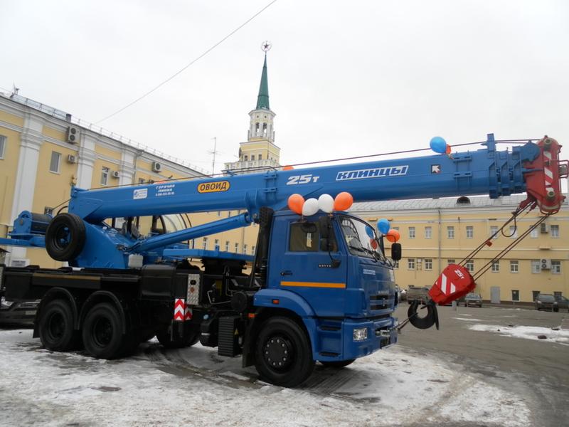 Автокран КС-55713 Клинцы