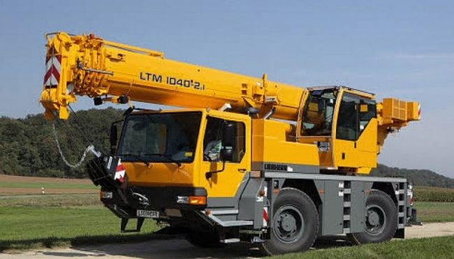 Автокран Liebherr LTM 1040-2.1