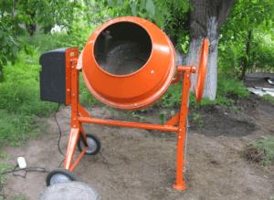 Самодельная бетономешалка своими руками: этапы изготовления