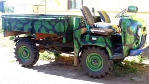 Уже сделанный трактор