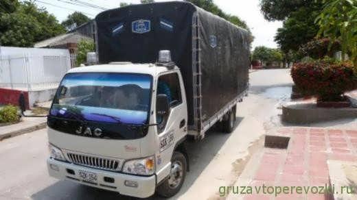 китайский грузовик JAC 1063