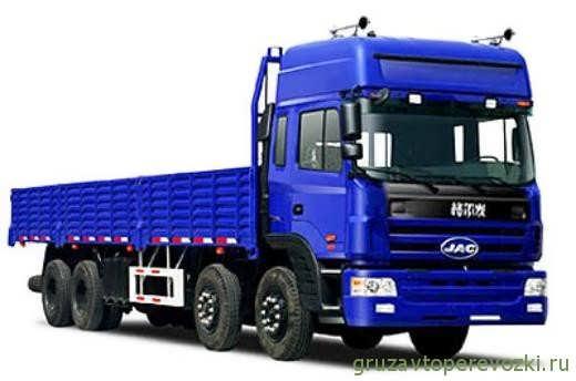 бортовой грузовик JAC 1312