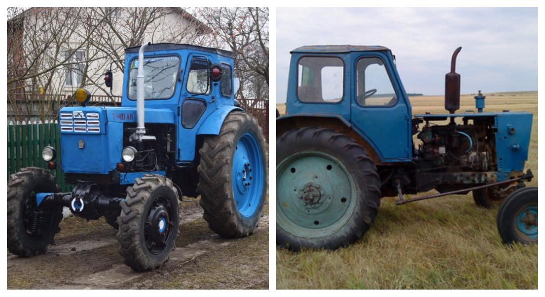 ЛТЗ-40 и МТЗ-40