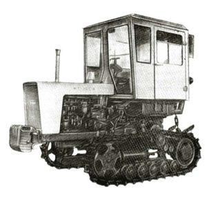 Трактор Т-70B