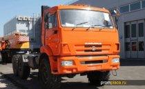 Бескапотный тягач КамАЗ 65221