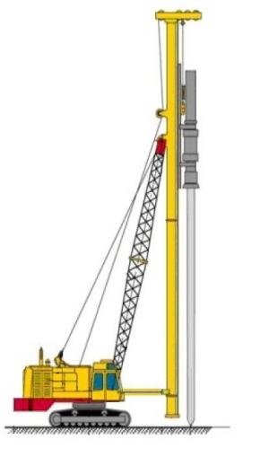 Рабочее оборудование буровой установки СО-2