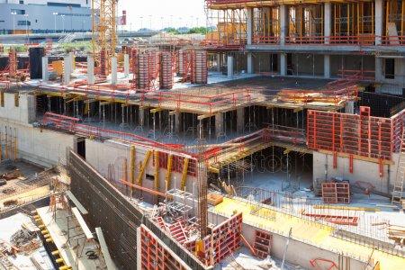Место строительства — стоковое фото