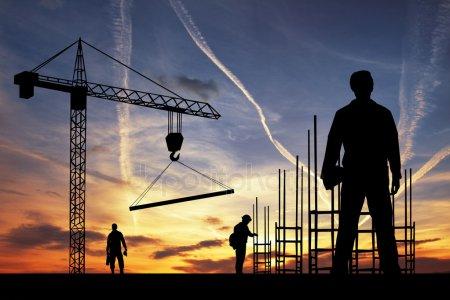 Строительство рабочего — стоковое фото