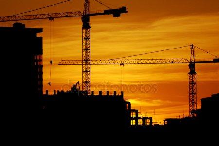 Строительство 3 — стоковое фото