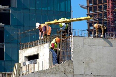 Строительство — стоковое фото