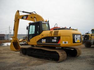экскаватор caterpillar 320  устройство