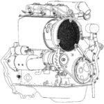 Трехцилиндровый двигатель