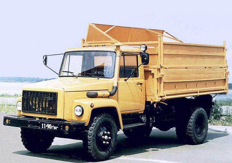 самосвала-тягача ГАЗ-САЗ 4509
