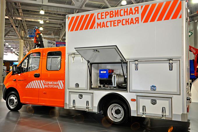 «ГАЗель NEXT» со встроенной гидравлической станцией