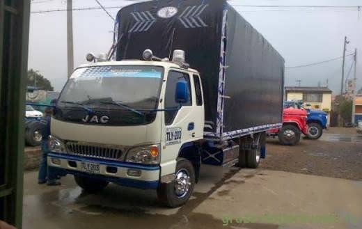 грузовик бортовой jac 1083