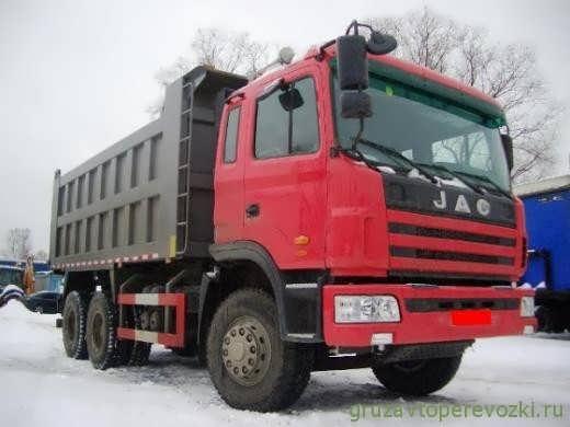 самосвал jac 3251