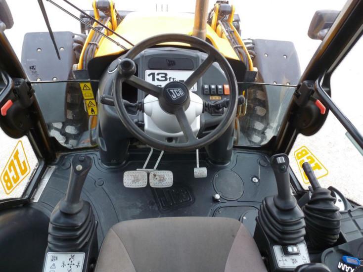 Рулевое колесо и рычаги управления JCB 4CX