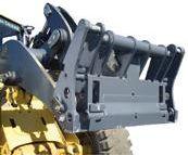 фронтальный погрузчик с крепёжным узлом JRB Multi Pick-Up Coupler