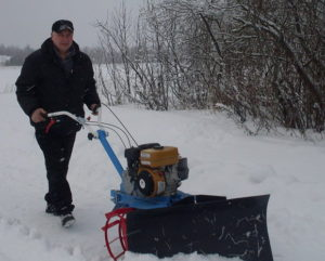 Снегоуборочная лопата для мотоблока Нева