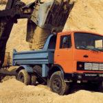 Самосвал МАЗ-5551 — рабочая лошадка строительной площадки
